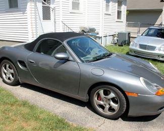 2002 Porsche Boxter S