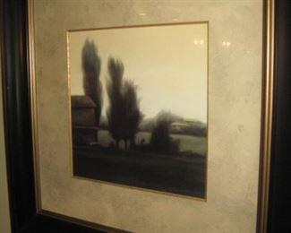 Nicely framed prints.