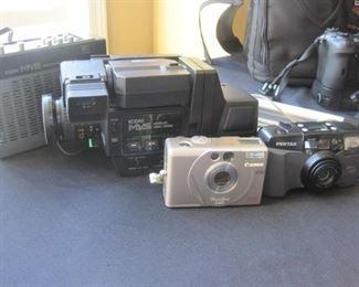 Miscellaneous cameras.