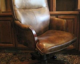 One of two Executive Office Chairs.