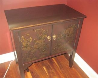 Lacquered Cabinet.
