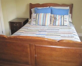 Bedroom Furniture with Bedding.