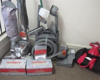 Kirby Sentria Vacuum and accessories.