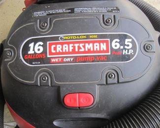 Craftsman Wet Dry Vac.