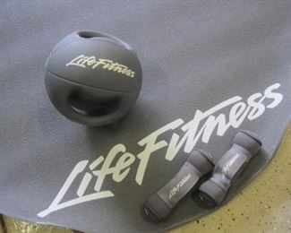 Life Fitness Set.