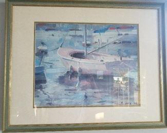 Nice sailboat print