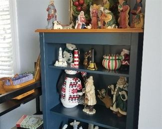 Many Nativity sets