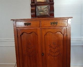 Antique Jelly Cabinet Pine