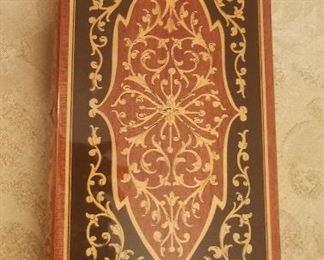Inlaid Wood Music Box