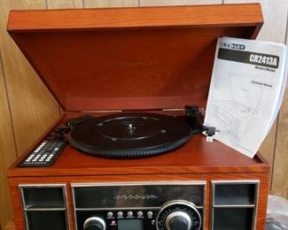Crosley Stereo System