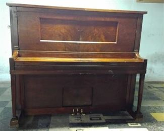 Chase Brothers Player Piano with a Amphion Brand Player Mechanism made by American Piano Company.
