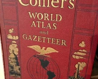 Antique & vintage books, Collier's World Atlas and Gazetteer 1937