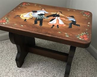 Hand painted by homeowner wooden items