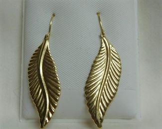 14  Leaf Earrings