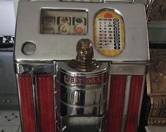 Sun Chief 5 cent slot one of at least 6 vintage slot machines
