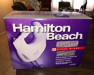 Hand mixer - new in box