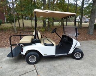 2011 E-Z-Go Electric Golf Cart. With Charger.  Accepting Closed Bids starting at $1200. until Saturday, November 23 @ 3PM.