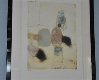 """Another matted and framed print by Bailey, 279/950 , 32"""" x 41"""""""