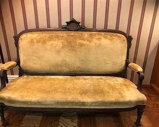 antique settee - excellent condition