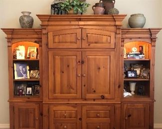 Another beautiful entertainment center