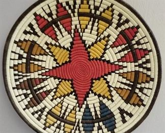 Beautiful Native American art throughout this home.