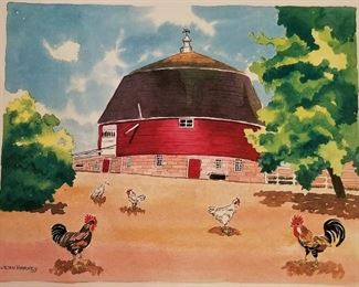 Great chicken and rooster art and decor items. Great for a farmhouse kitchen.