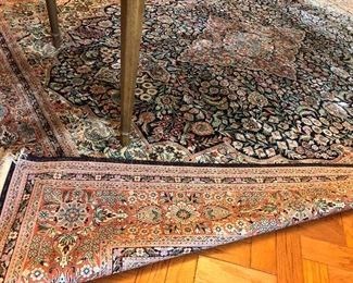 Large, Silk rug