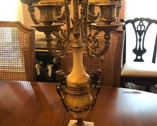 1 of a pair candelabras