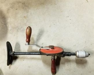 Antique drill