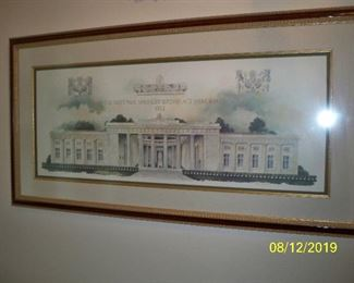 The National McKinley Birthplace Memorial 1917 - Print