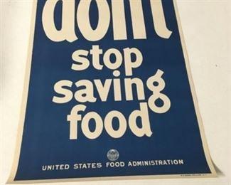 Don't Stop Saving Food