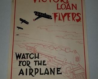The Victory Loan Flyers