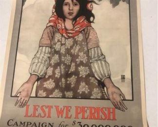 Lest We Perish