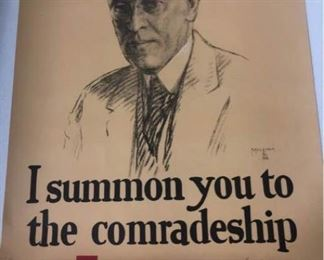 I Summon You To The Comradeship