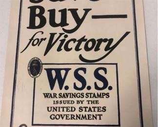 Save Buy For Victory