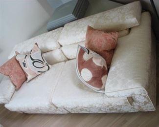 Holly Hunt custom sofa