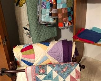 Additional handmade quilts