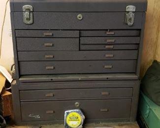 Vintage Kennedy machinist tool box