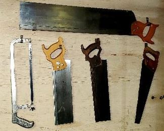saws clamps etc