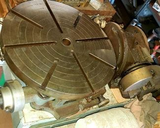 "Troyke 18"" Vertical Rotary Table  Model T-18"