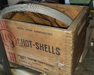 wooden shell box