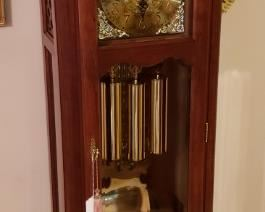 Ethan Allen country french grandfather clock