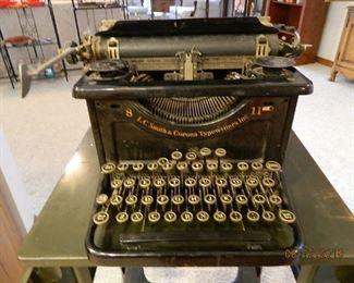 antique Smith & Corona typewriter