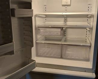 $100 Amana fridge and freezer