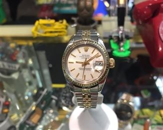 1980 WOMANS ROLEX, Model 6917, Ser 673****, Completely Serviced, $2,700 - cash only