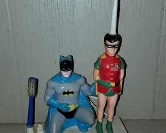 Batman and Robin Toothbrush