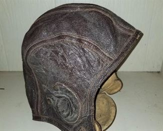 Vintage (Possible WWII) Aviator Pilots Hat (1940's)
