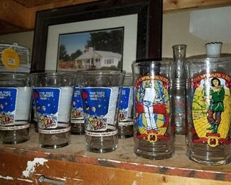 1982 Worlds Fair Glasses and Wizard of Oz Glasses