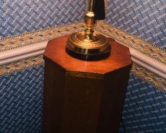 antique octagon fern stand