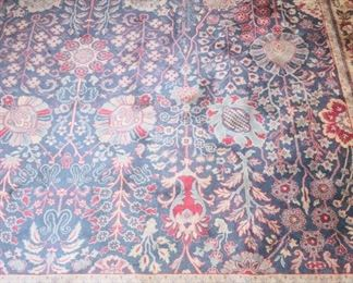 fine hand knotted room sized rug